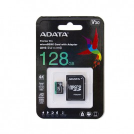 Micro SDXC card ADATA Premier Pro 128GB UHS-I U3 Class 10 (V30)