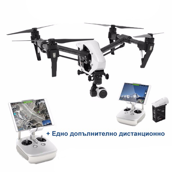DJI INSPIRE 1 V2.0 with two Remote Controllers