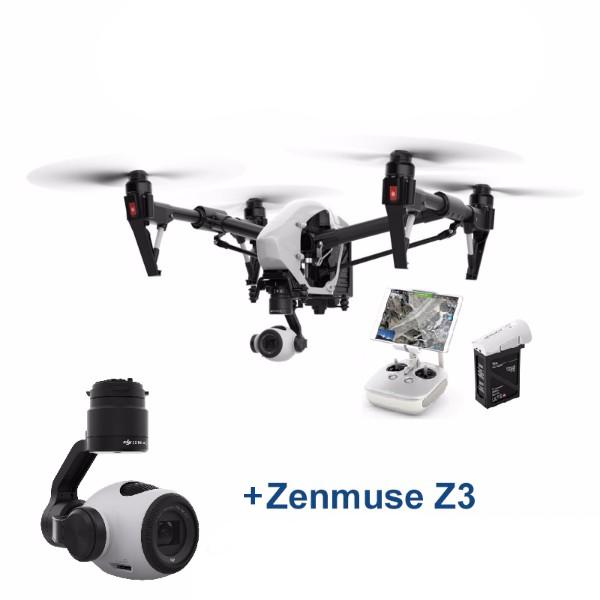 DJI Inspire 1 v2.0 + Zenmuse Z3