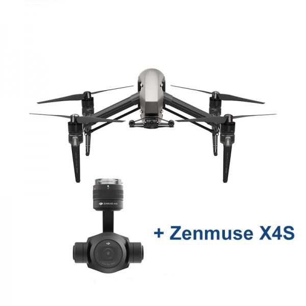 DJI Inspire 2 + Zenmuse X4S