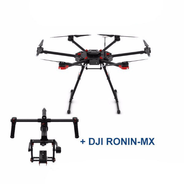 DJI Matrice 600 + Ronin-MX