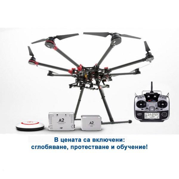 DJI Spreading Wings S1000+ OKTO - A2 + FUTABA T14SG 2.4GHz
