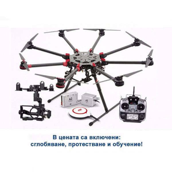 DJI Spreading Wings S1000+ OKTO - A2 + Z15 (N7/GH3/GH4/BMPCC) +FUTABA T14SG 2.4GHz