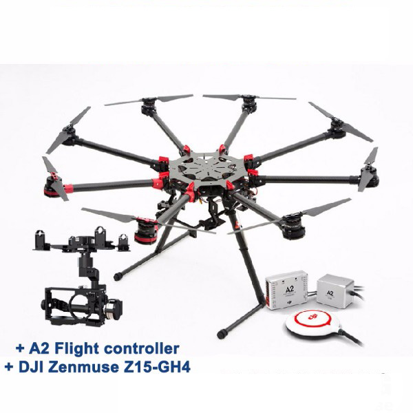 DJI Spreading Wings S1000+ OKTO - A2 + Z15 GH4 (HD)