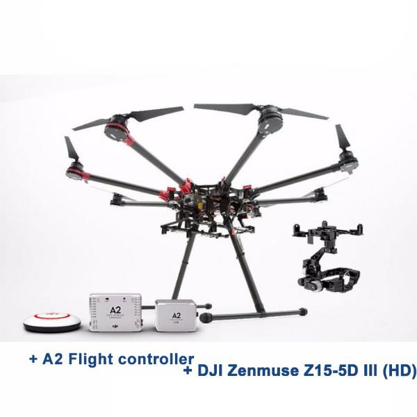 DJI Spreading Wings S1000+ OKTO - A2 + Zenmuse Z15-5D III (HD)