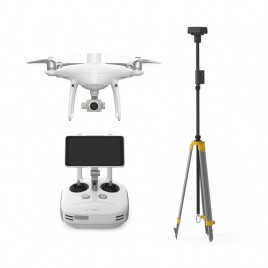 DJI Phantom 4 RTK drone + DJI D-RTK 2 mobile station