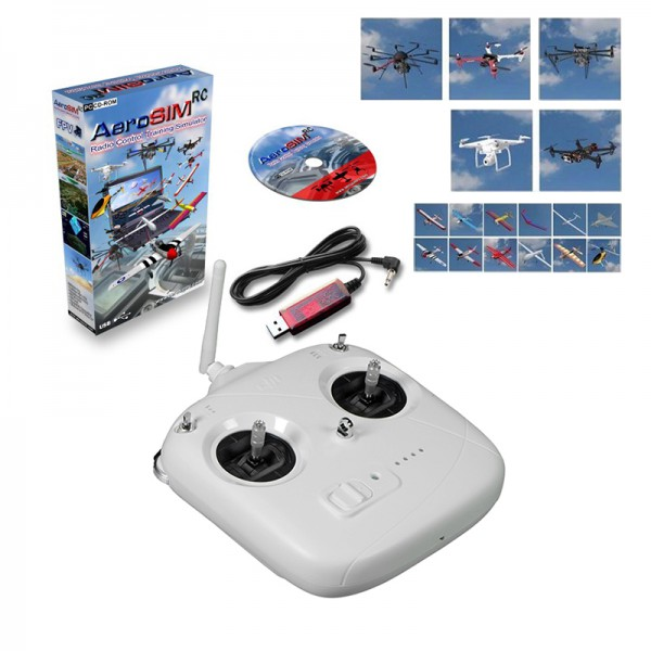Set Flight Simulator AeroSIM with RC
