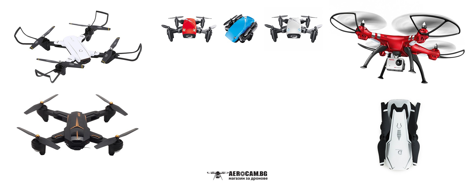 Small Drones with camera