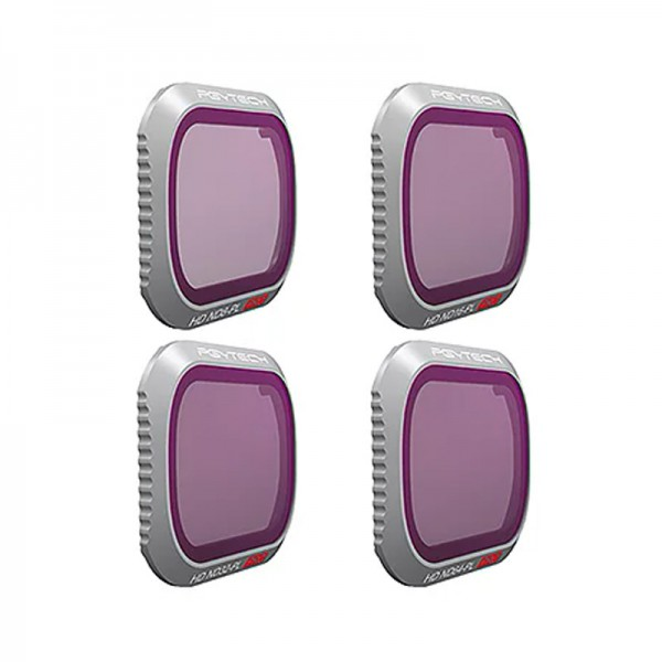 PGYTECH DJI Mavic 2 Pro Filter (Professional), ND4 UV CPL Lens Filter