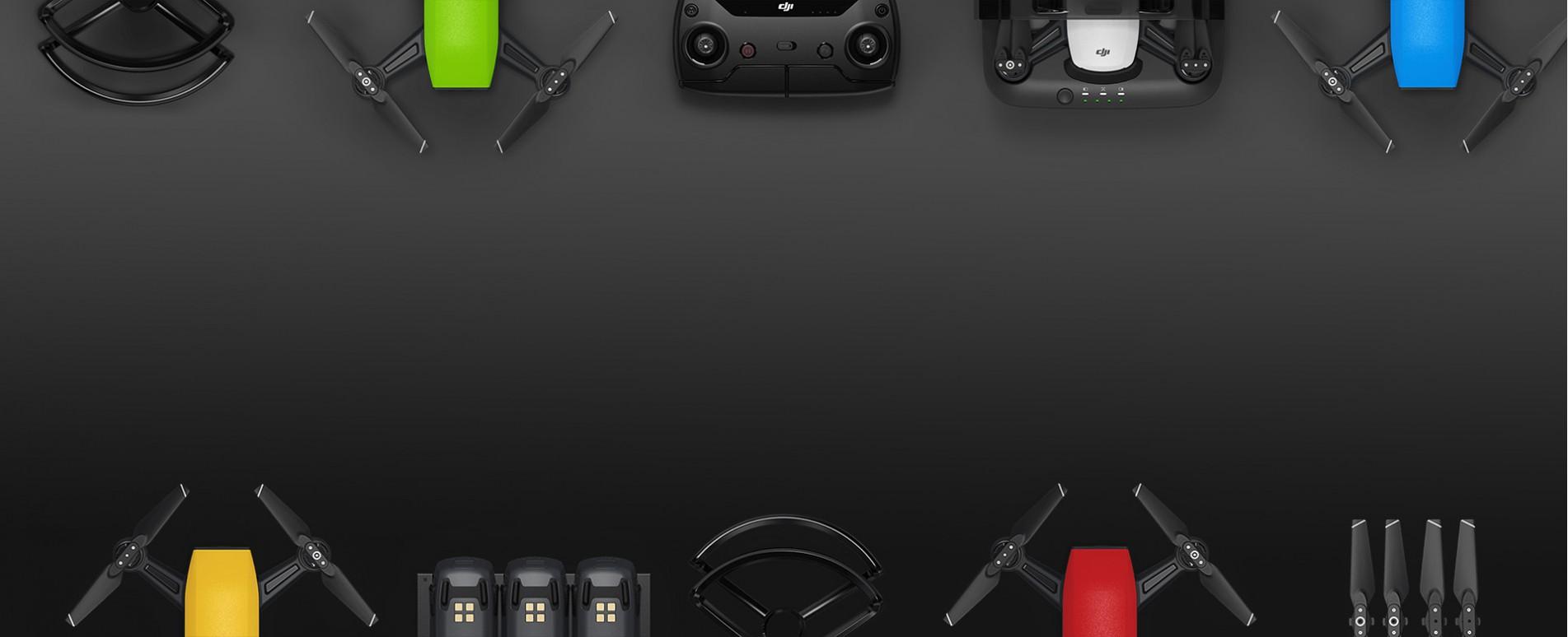 Купи дрон DJI Spark на топ цена от AeroCam.bg