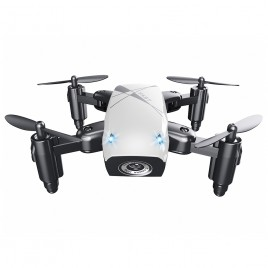 Micro-Drone AEOFUN S9 -  Foldable RC Quadcopter White