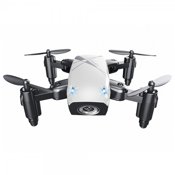 Микро Дрон AEOFUN S9 - с камера и сгъваем - Бял