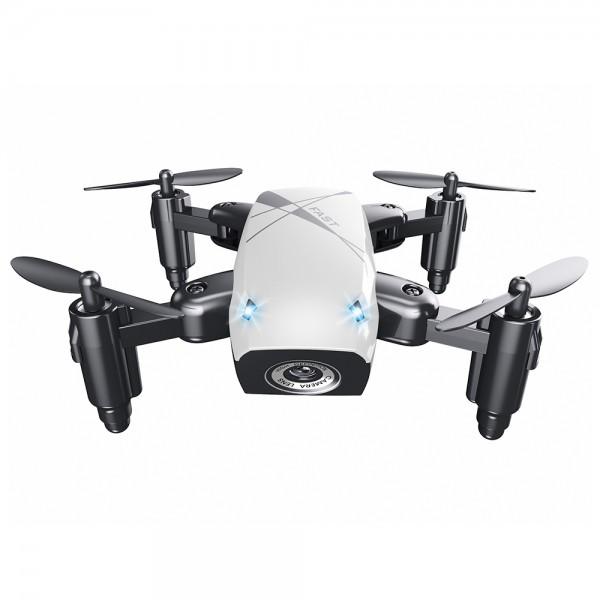 Micro-Drone AEOFUN S9 -  Foldable RC Quadcopter White