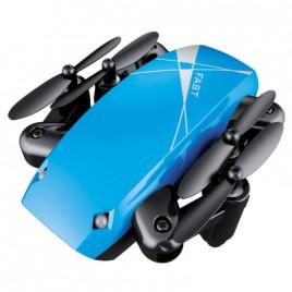Микро Дрон AEOFUN S9 -  с камера и сгъваем - Син цвят