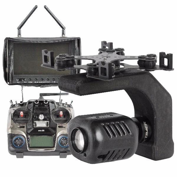 AEROCAMZOOM камера с приближение, Дистанционно и FPV ситема