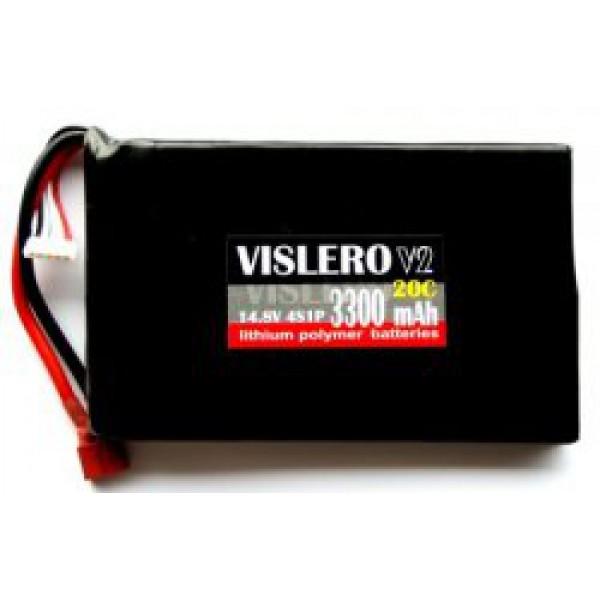 LiPo 14,8V 3300mAh / 20C (Flat)