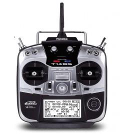 FUTABA T14SG 2.4GHz дистанционно управление + RX R7008SB