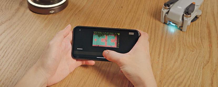 бързо изрязване на видеото от приложението