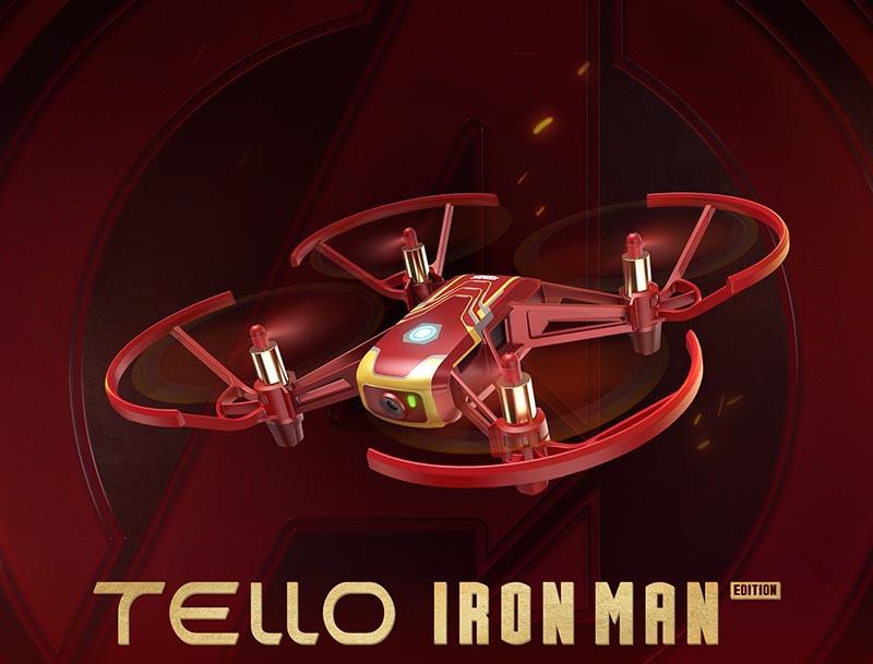 Дрон с камера DJI Tello Iron Man Edition на ТОП ЦЕНА