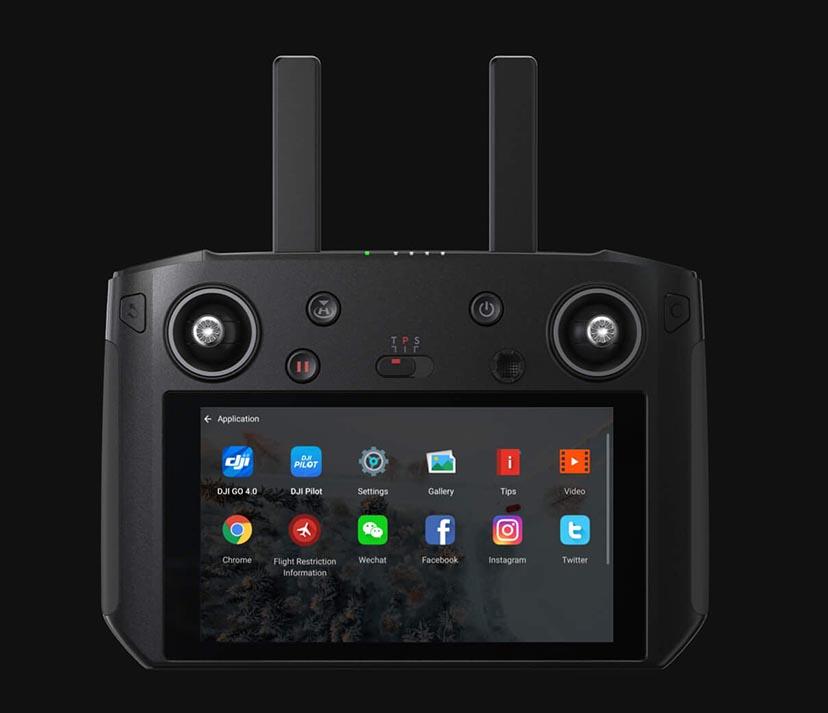 Дистанционно управление с вграден екран DJI Smart Controller