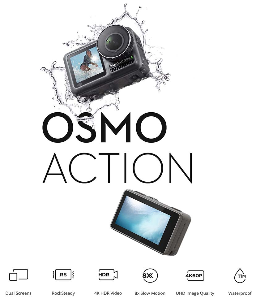OsmoAction Short Specifications