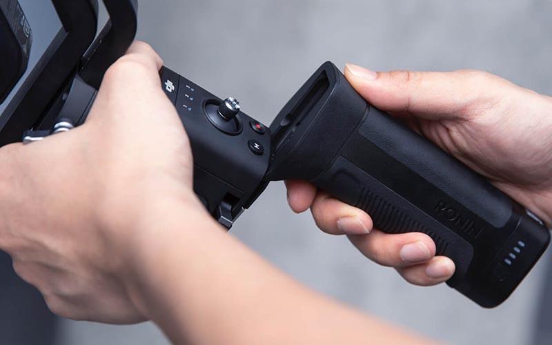 Ръкохватка с батерия