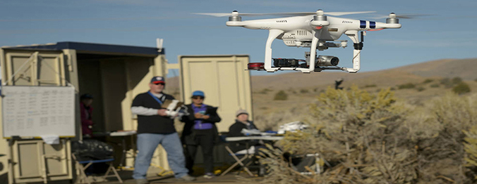 NASA Conducts 'Out of Sight' Drone Tests in Nevada