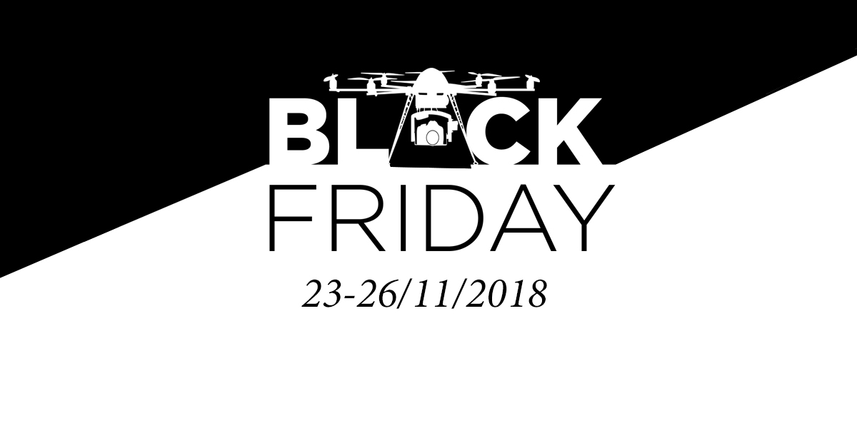 Black Friday for drones and accessories